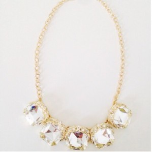 gatsby gold necklace