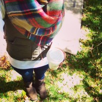 puffer vest layers
