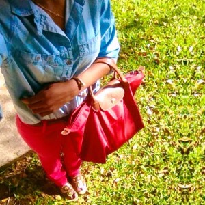 Lilly Pulitzer and Chambray