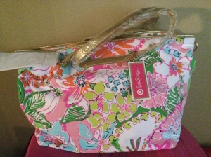 Lilly Pulitzer for Target Weekender Bag - Nosie Posey