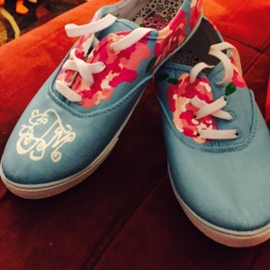 Lilly Pulitzer canvas shoes from SimplyFabs