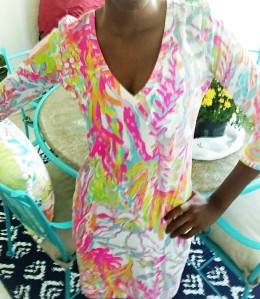Lilly Pulitzer Christie Dress in Scuba to Cuba